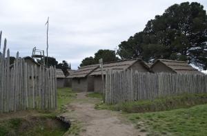 Reconstrucción del Fortin Pavon
